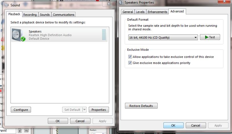 Can't get ASIO4ALL working with Realtek High Definition