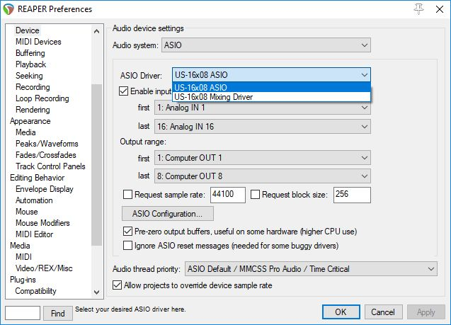 Tascam Us 16x08 Driver Windows 10 - Download For Free - luckysokol