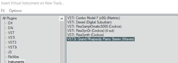 New Laptop Setup  Gah!! Windows 10 / 64 Bit - Cockos
