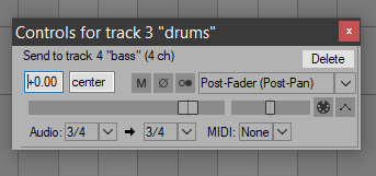 Can someone please help me with sidechaining    - Cockos